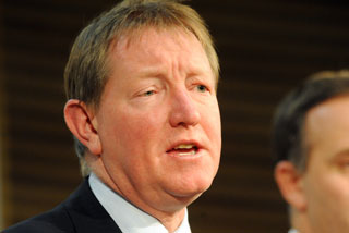 Climate Change Minister Nich Smith