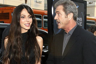 Mel Gibson and ex-girlfriend Oksana Grigorieva