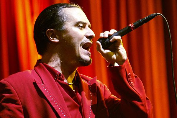 Faith No More frontman Mike Patton (Reuters)