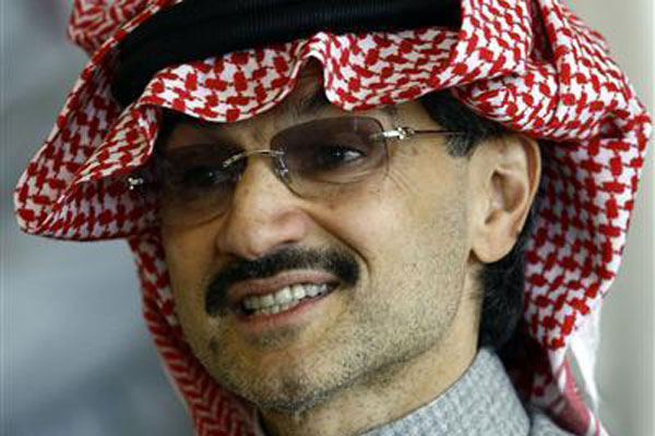 Prince Alwaleed bin Talal bin Abdulaziz Al Saud ordered the A380 in 2007 (Reuters file)
