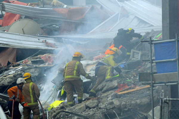 More bodies are likely to be pulled from the rubble of the Canterbury Television building (NZPA)