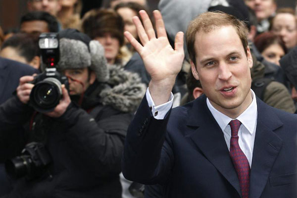 What is Prince William's last name? (Reuters)