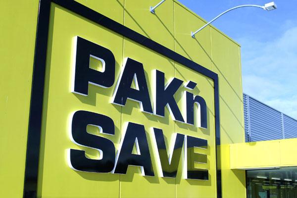 Hamilton Pak n'Save gave shoppers a Good Friday treat (NZPA)