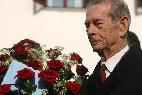 Romania's former King Michael (Reuters, 2005)