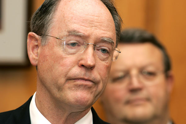Dr Brash's desire to become Finance Minister was most unlikely to be satisfied (NZPA)
