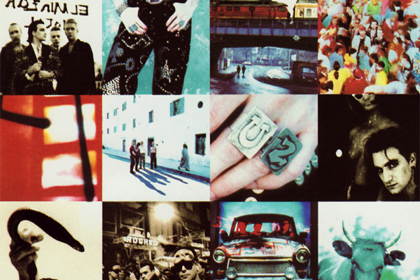 Cover art for U2's Achtung Baby