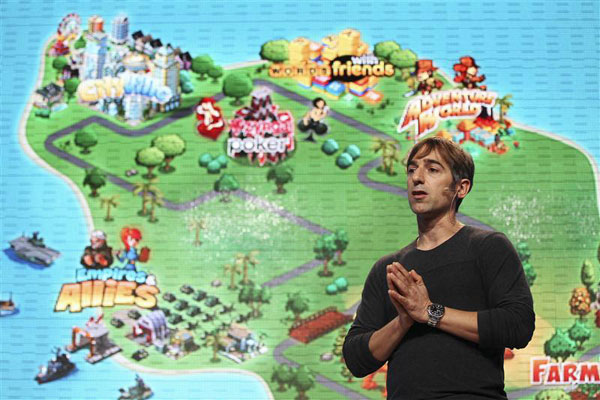 Zynga CEO Mark Pincus (Reuters)