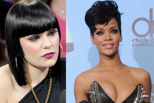 Jessie J (WENN.com); Rihanna (Reuters)