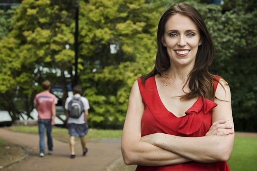 Jacinda Ardern is described by 3 News political reporter Patrick Gower as Labour's future.