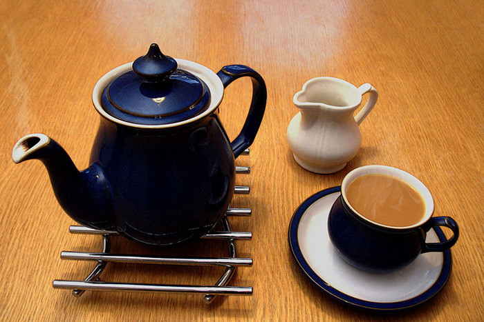 The cup of tea is a potent political symbol