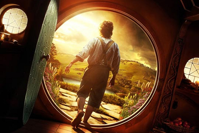The Hobbit: An Unexpected Journey poster art