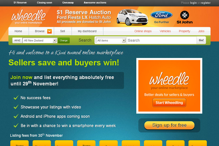 Wheedle auction site launches today