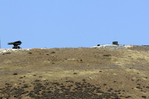 Missile bases like the border between Syria and Turkey  (Reuters)