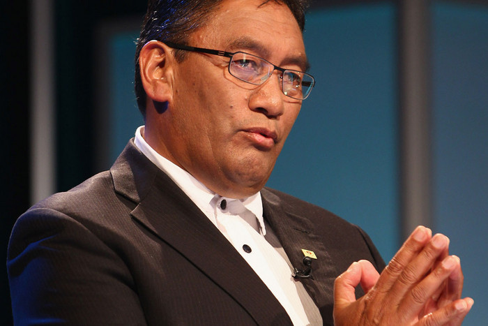 Mana Party leader Hone Harawira says a financial transactions tax would bring the dollar down (AAP)