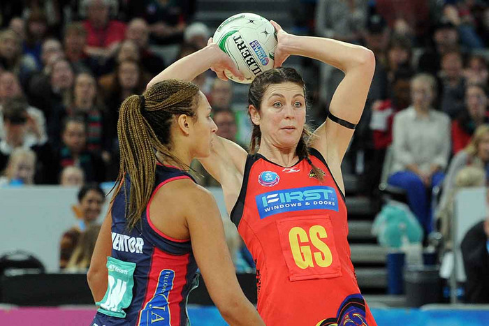 Iren van Dyk in action in the ANZ Championship (Photosport file)