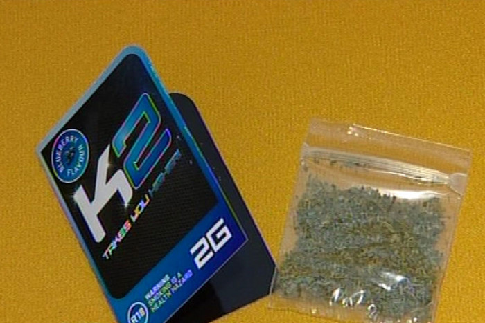 Police are discouraging shops from selling K2, a synthetic cannabis product (file)