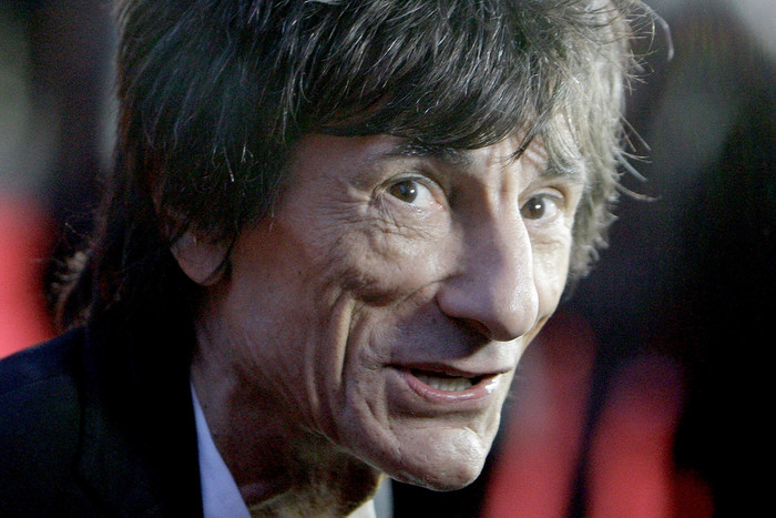 Ronnie Wood (AAP)