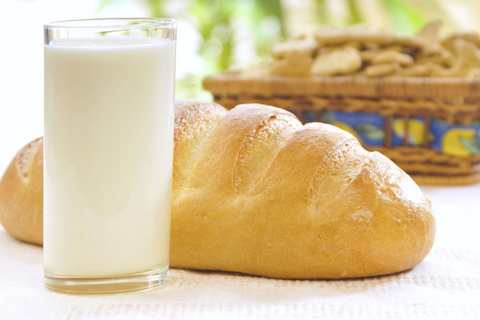 Kefir is a fermented milk beverage containing less than 1 percent alcohol
