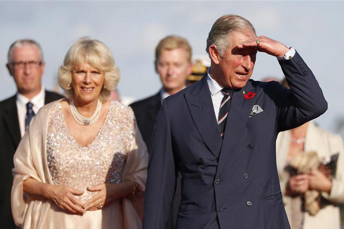 Charles and Camilla in Sydney earlier this week  (Reuters)
