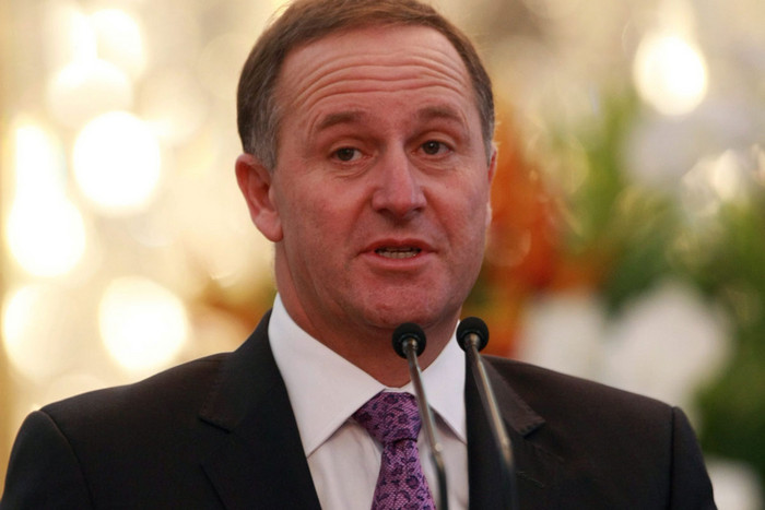 John Key has defended dropping Kyoto (file: AAP)