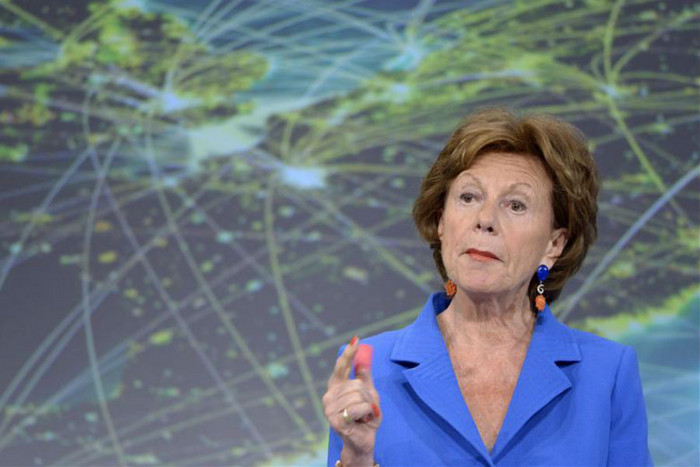 European Commission vice-president Neelie Kroes (Reuters)