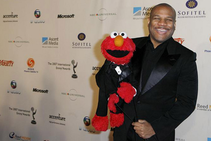 Kevin Clash with Elmo (Reuters file)