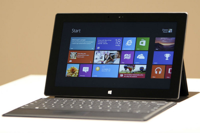 Microsoft's Surface tablet (Reuters)