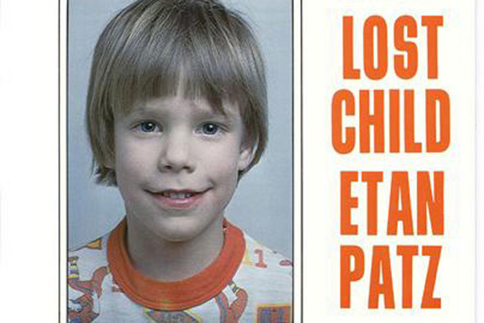 A 'Still Missing' poster of Etan Patz (Reuters)