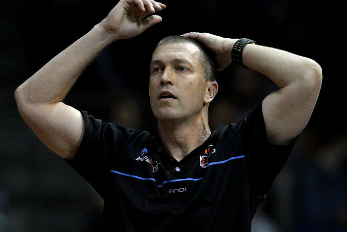 Breakers coach Andrej Lemanis (photosport)