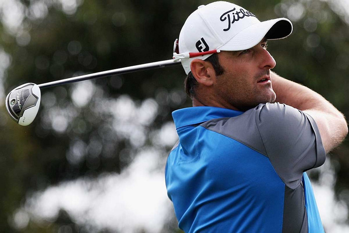 New Zealander Michael Hendry is in a tie for second after a first round 67 (AAP)