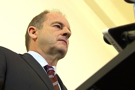 Labour leader David Shearer (file)