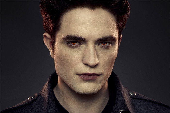 Robert Pattinson in Twilight poster art