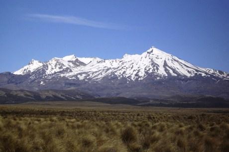 Mt Ruapehu  (file)