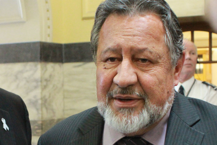 Maori Affairs Minister Pita Sharples