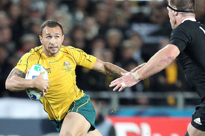 Controversial Wallabies' playmaker Quade Cooper (AAP file)
