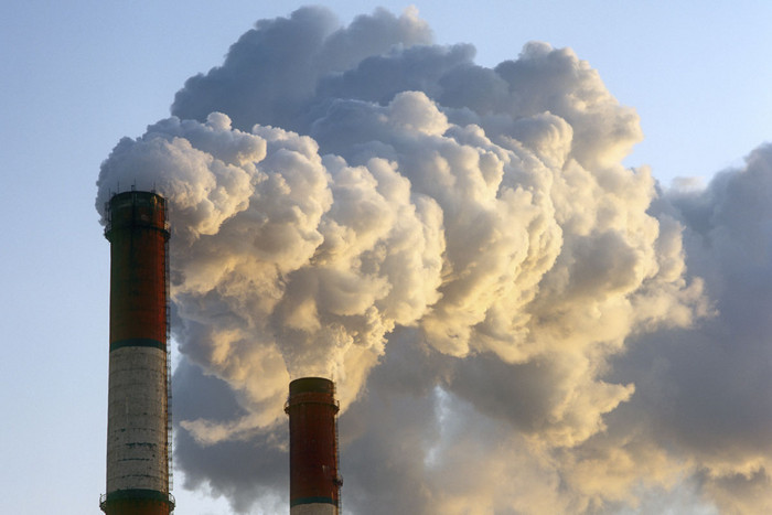 There have been 350 billion metric tons of carbon dioxide added to the atmosphere since 1750