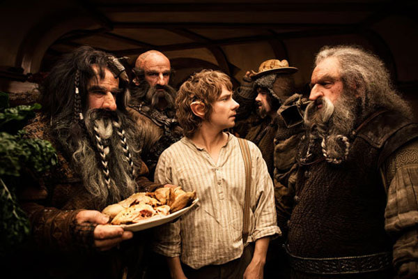 Scene from The Hobbit