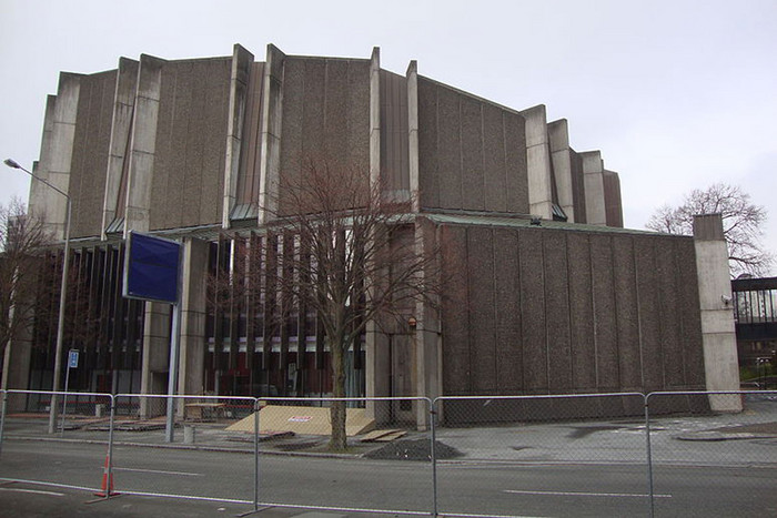 The Christchurch Town Hall is insured for $68.9 million (file)