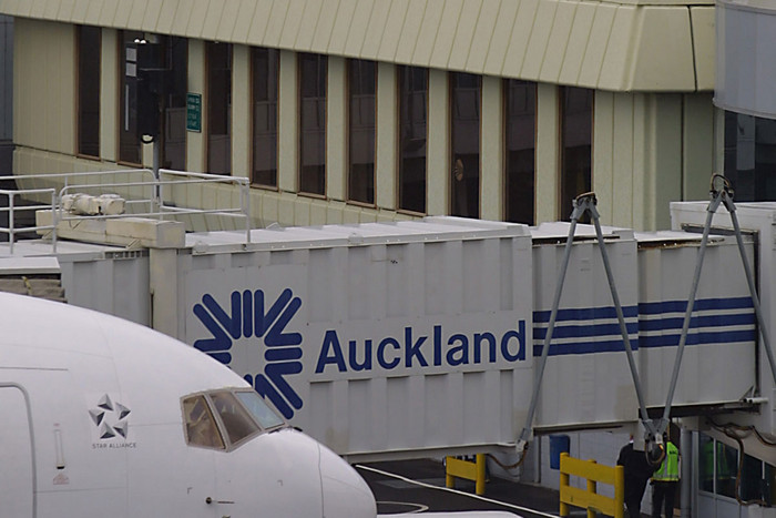 Auckland Airport showed a 3.5 percent decline in international passenger movements to 612,976 from the same time last year (file)