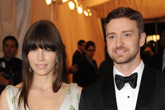 Jessica Biel and Justin Timberlake (AAP)