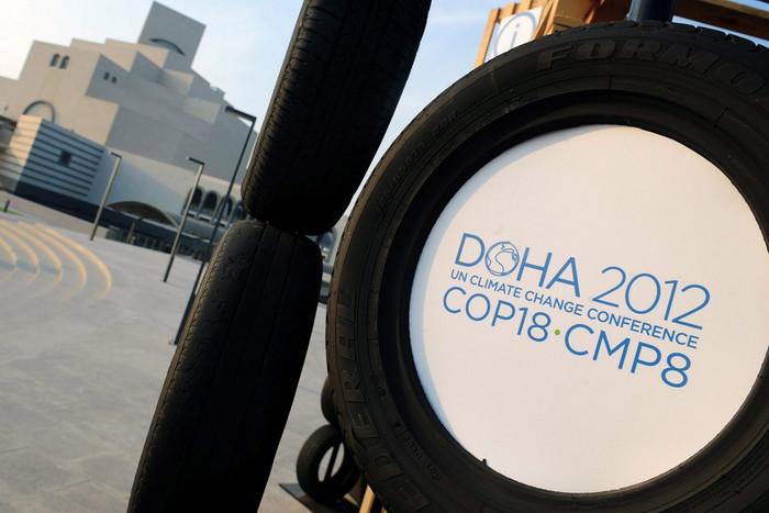 The Doha 2012 talks began on Monday (AAP)