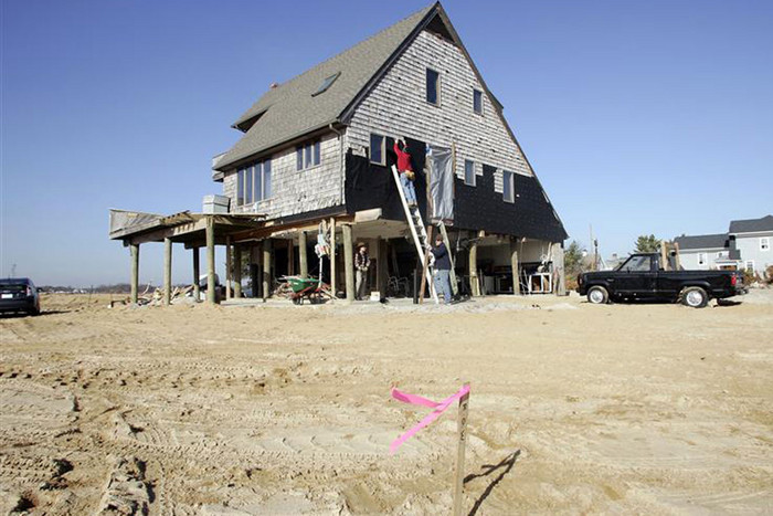 House damaged by Sandy (Reuters)
