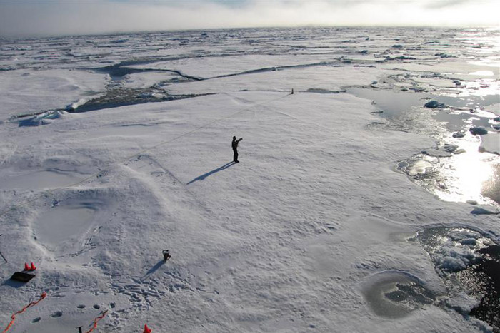 Scientists have been trying to find out why Arctic sea ice is melting so fast (Reuters)
