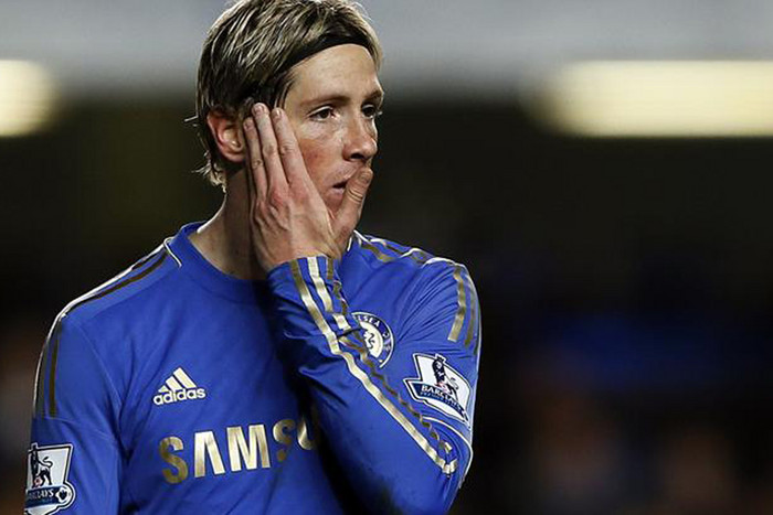 Chelsea's Fernando Torres, without a goal in 648 minutes (Reuters file)