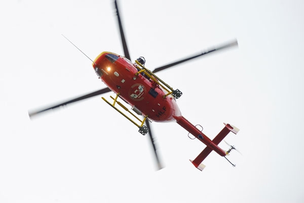 The helicopter was dispatched from Palmerston North (file)