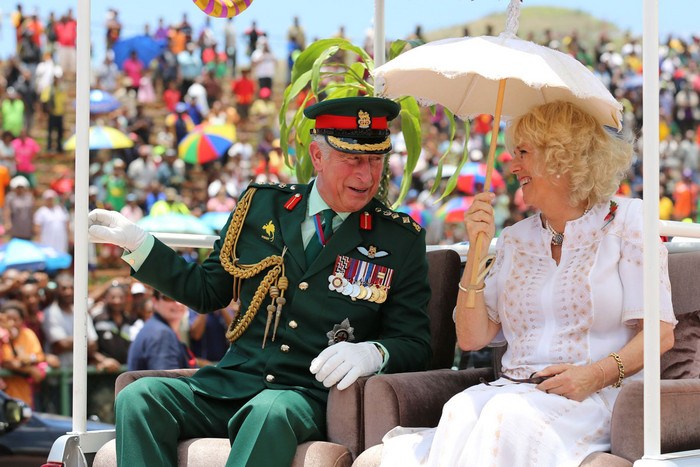 The Prince of Wales and the Duchess of Cornwall in Papua New Guinea (AAP)