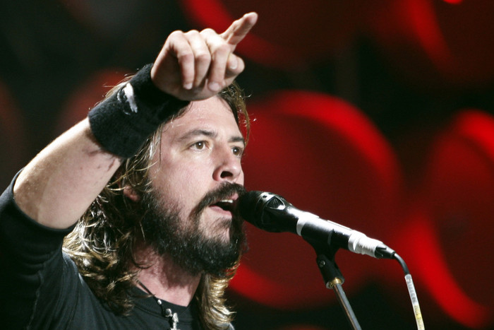 Foo Fighters frontman Dave Grohl (Reuters)