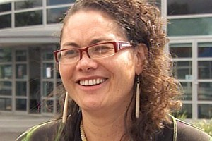 Louisa Wall spoke to the Select Committee today  (file)