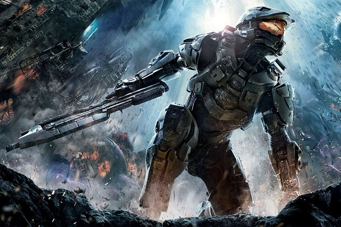 Promotional artwork for Halo 4