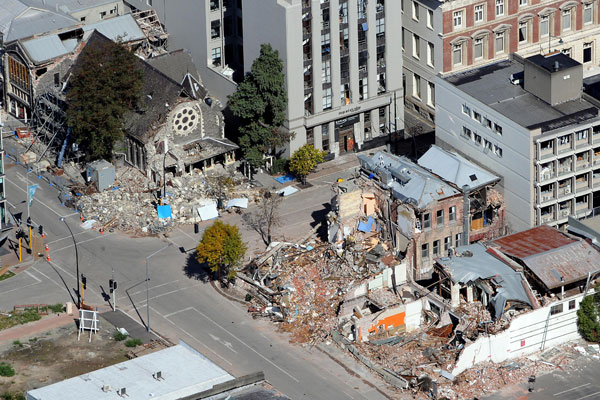 The Christchurch quake will cost the Government $13 billion